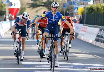 """Vansevenant koestert 1ste profzege: """"In groep met winnaars van grote ronden en Monumenten, dat gaf me vertrouwen"""""""