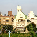 shibuya castle in Shibuya, Tokyo, Japan