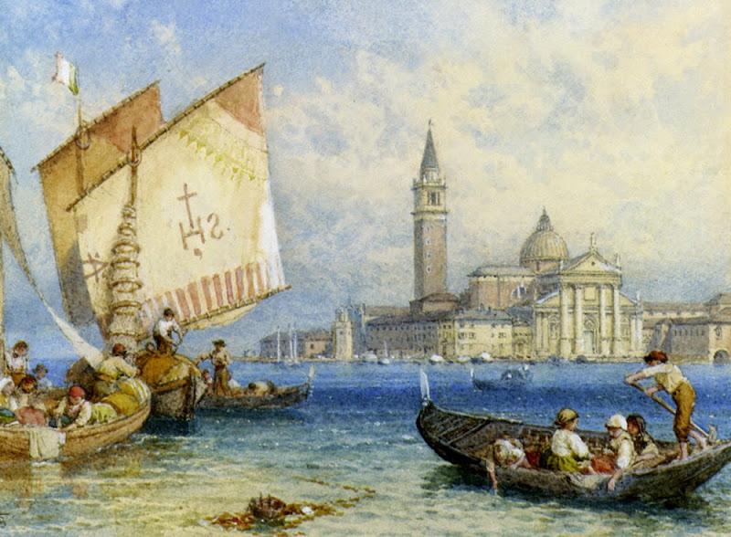 Myles Birket Foster - San Giorgio Maggiore Venice