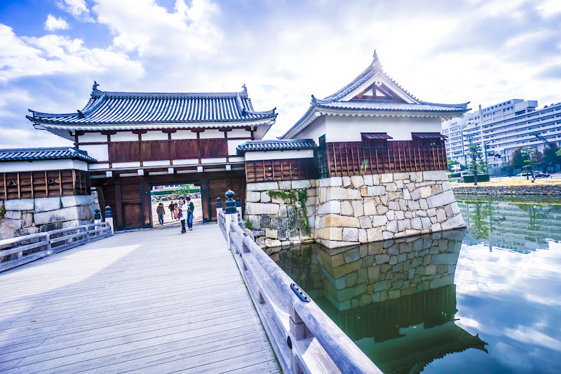 Hiroshima Castle Ninomaru2