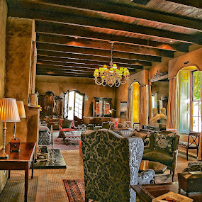 Governors room - Lanzerac wine estate by Randall Langenhoven - Buildings & Architecture Other Interior ( yesteryear, decor, interior, hdr, vintage, furnishings, design, antiques )