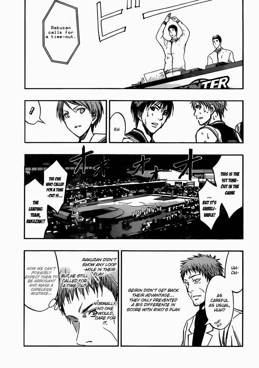 Kuroko no Basket Manga Chapter 241 - Image 10