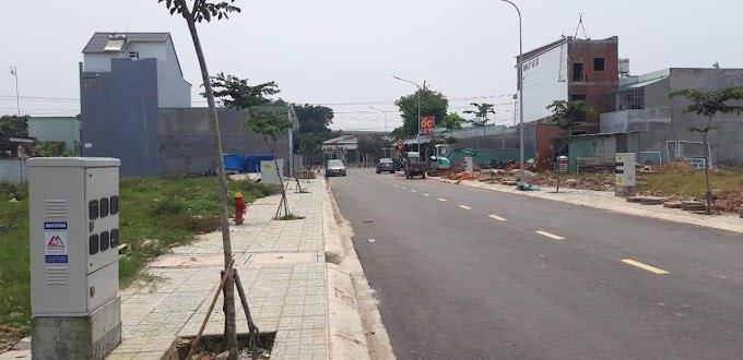 Cần bán lô đất sổ hồng riêng ở Bình Phú, Bình Chuẩn, Thuận An, Bình Dương