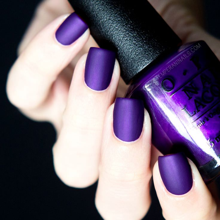 Top 72 Purple Nail Polish Color 2018 for Girls - Fashion 2D