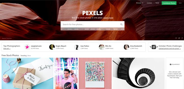 3 sitios web para poder descargar fotografías profesionales gratuitas