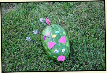 11m2- Hawaiian Luau - May 30 - Let the Games Begin - Warrior, The Pig