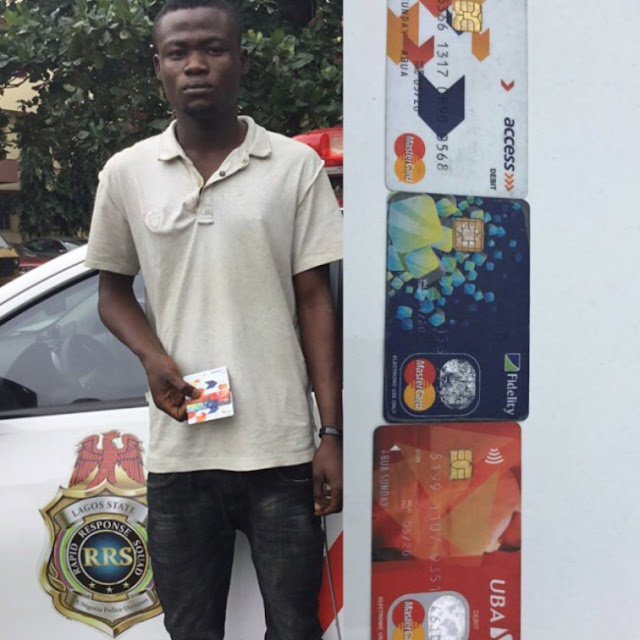 AAU Undergraduate Fraudster Nabbed For Defrauding People With Cloned Website (Photos)