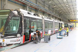 Assemblage des rames de tramways : Cital double son chiffre d'affaires