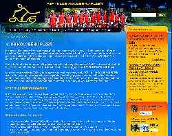 site du trottinette club de Plzen, en République Tchèque