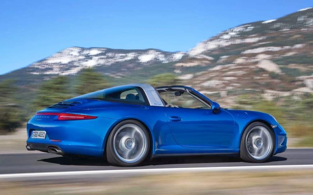 2014 Porsche 911 Targa 4 13