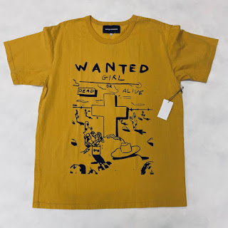 Bianca Chandon NEW Graphic Print T-Shirt Yellow