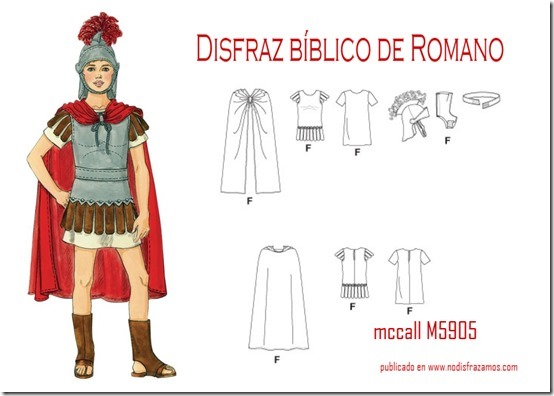 disfraz romano5
