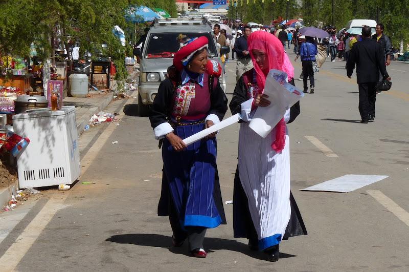 Chine. Yunnan.Shangri la Course hippique annuelle - P1250750.JPG