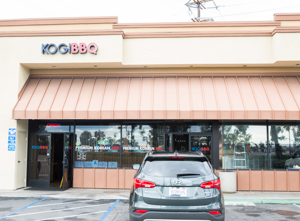 photo of the outside of Kogi BBQ