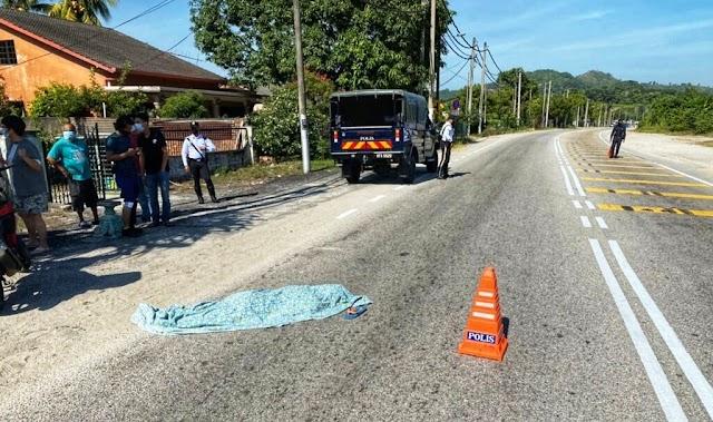 Seorang pejalan kaki warga emas maut dirempuh