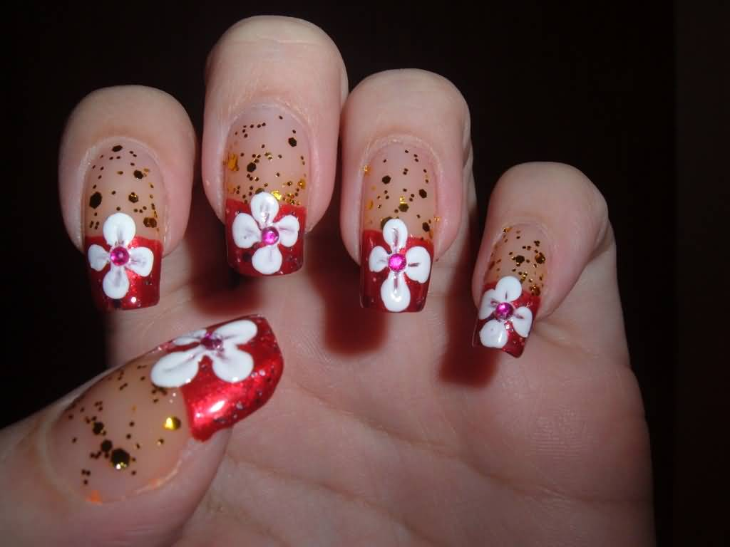 Cute Flower Nail Art Ideas Collection For Girls 2017 Styles Art