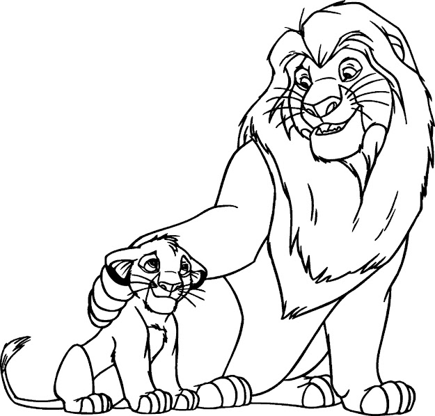 Lion King Coloring Pages With Lion King Coloring Pages Color Philterco  Images