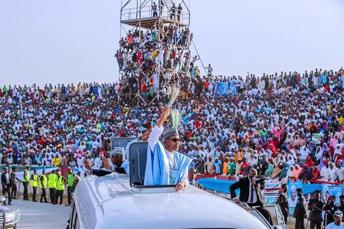 #NigeriaDecides2019: Buhari Wins In Ekiti As APC Clears Three Senate, Six House Seats