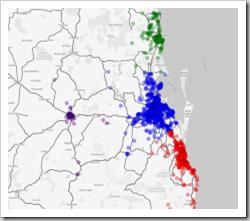 Clusters - Brisbane