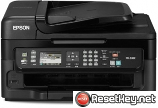 Resetting Epson PX-535F printer Waste Ink Counter