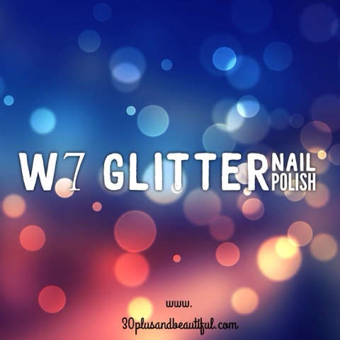 W7 Glitter Nail Polish Review