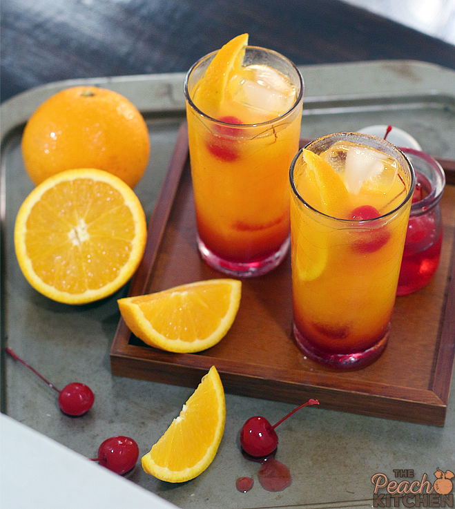 Sweet Sunrise Drink
