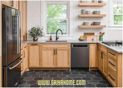 lantai dapur keramik