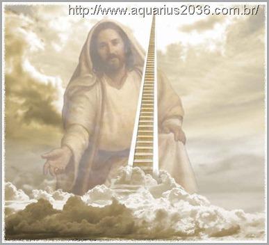 O reino dos céus ou espiritual segundo as tradições cristãs.