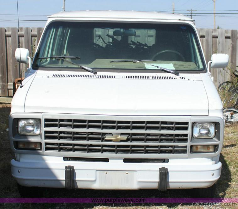 1994 Chevrolet G Series G10 Transmission: 1994 Chevrolet Sportvan Van Specifications, Pictures, Prices