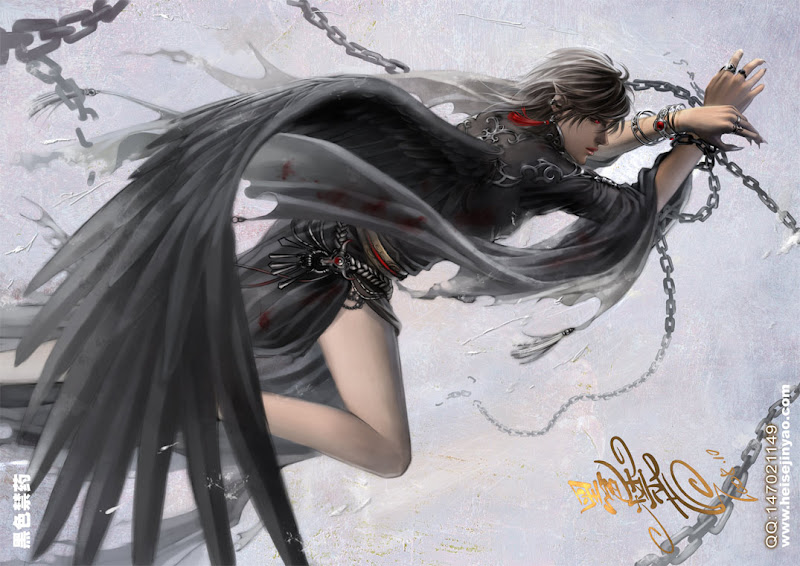 Black Angel In Chains, Magick Warriors 3