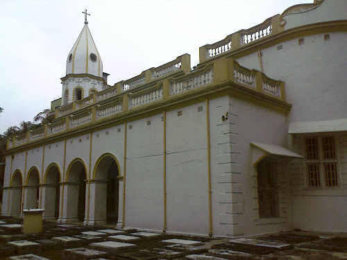 Side View of the Church