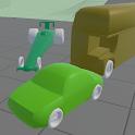Abstract Car Simulation icon
