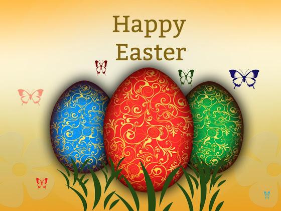 Uskrs besplatne pozadine za desktop 1280x960 slike čestitke blagdani jaja leptiri free download Happy Easter