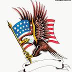 usa flag - tattoo designs