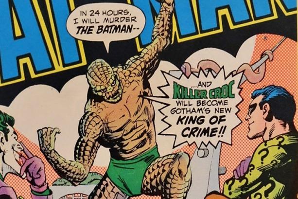 Killer-Croc-dalam-komik