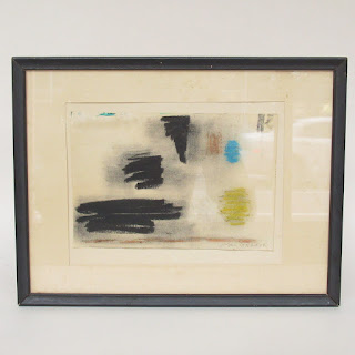Mac Gregor Signed Mid-Century Abstract Painting