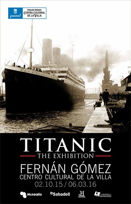 Titanic The Exhibition, en el Fernán Gómez hasta marzo de 2016