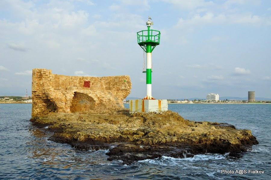 Акко, башня в море. Экскурсия по Акко. Гид в Израиле Светлана Фиалкова.