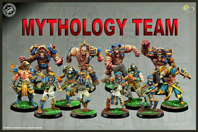 Mythology Team Willy miniatures