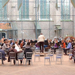 Generale repetitie Nieuwjaarsconcert Prinsenhof Delft