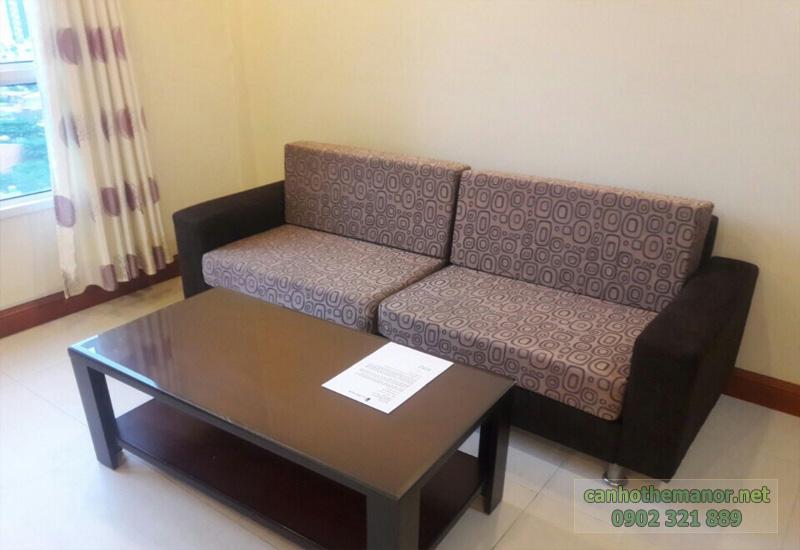 the manor 2 tphcm - Sofa phòng khác căn hộ 2 phòng ngủ
