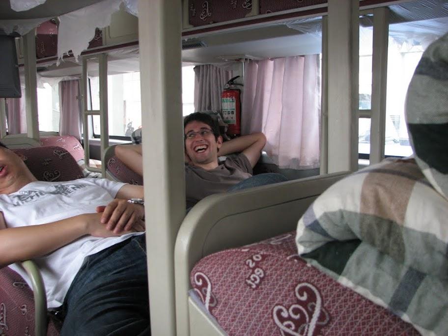 Nico dans le bus