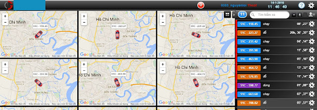 Quản lý xe tải bằng định vị GPS
