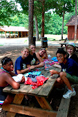 craft time at Camp New Hope