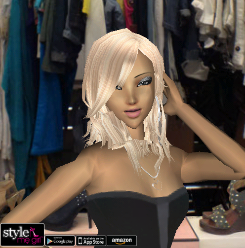 Style Me Girl Level 21 - Lyan Li - Hollywood - Close Up