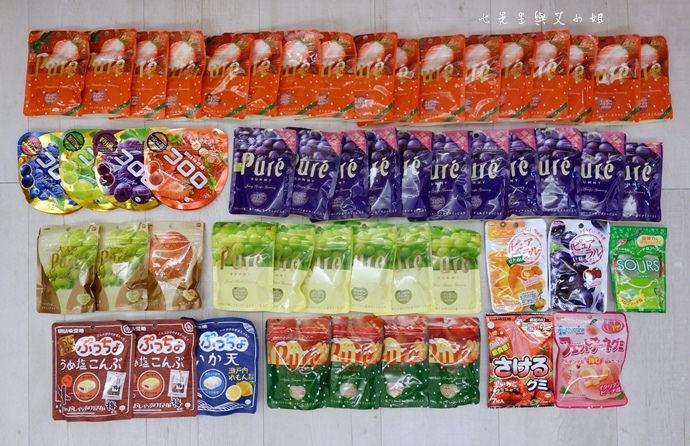 1 日本人氣軟糖推薦 UHA味覺糖 KORORO pure 甘樂鮮果實軟糖