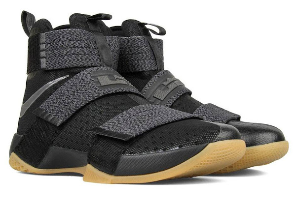 Available Now Nike LeBron Soldier 10 Black  Gum