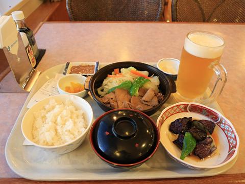 新日本海フェリー「らいらっく」 レストラン 夕食 その1