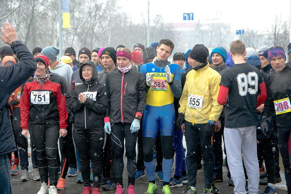 Фотографии. Пробіг, присвячений міжнародному жіночому Дню 8 березня