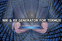 Cara Install NIK dan KK Generator Termux